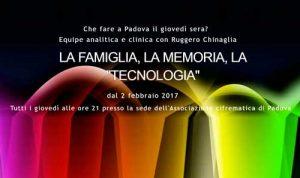 la famiglia la memoria la tecnologia